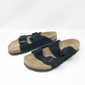 Birkenstock Arizona Suede Soft Sandals Size 10